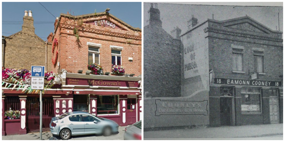Here's what McGowan's looked like in the 40's