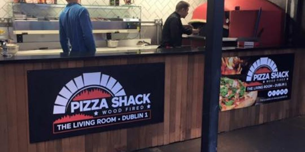 Wood fired pizza comes to The Living Room
