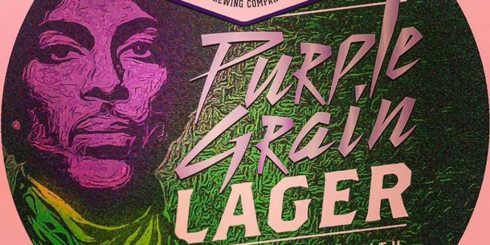 A pub and a brewery have teamed up to make a 'Prince' themed beer.