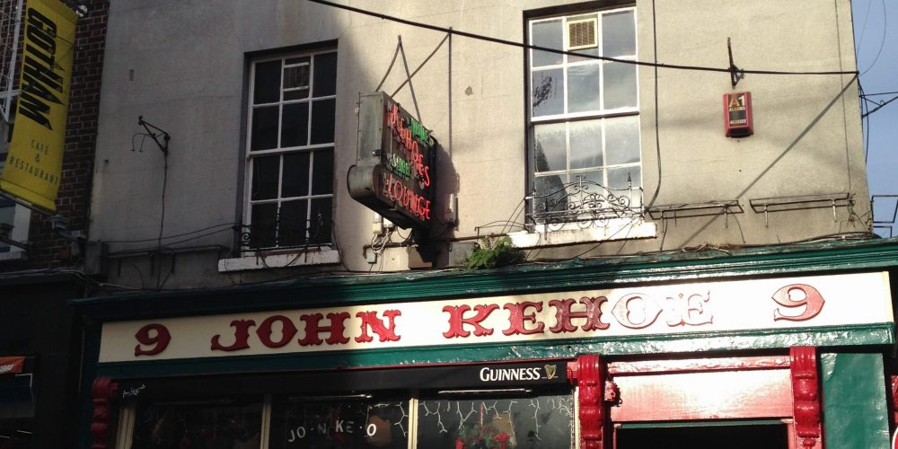 Kehoes has been voted the best pub in Dublin.