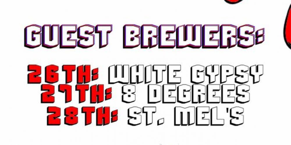 There's a mini beer festival coming to Capel Street