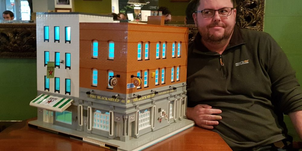 Someone made a replica of The Black Sheep from lego