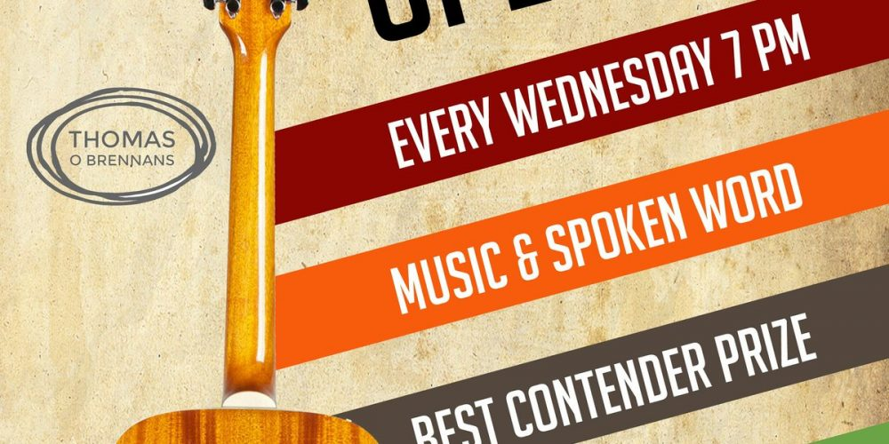 There's a new open mic night starting on the Northside tonight.