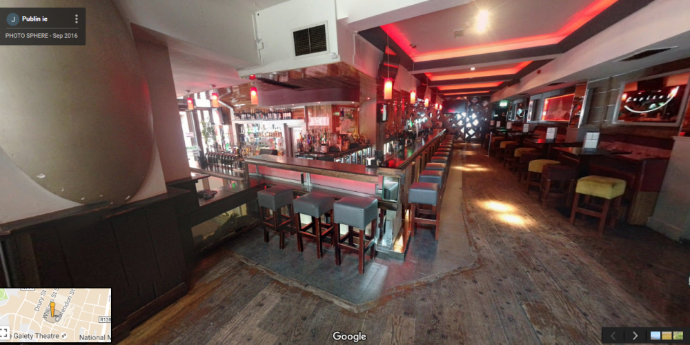 In 360: Capitol Bar, George's Street