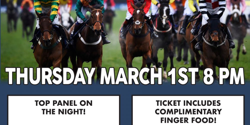 There's a Cheltenham preview night in Kennedy's