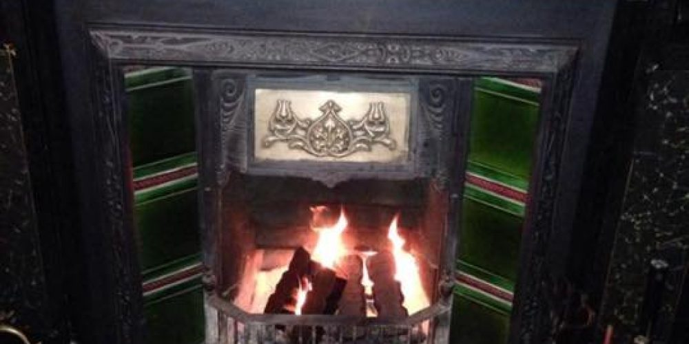 Get cosy in all the Dublin pubs with a fireplace.
