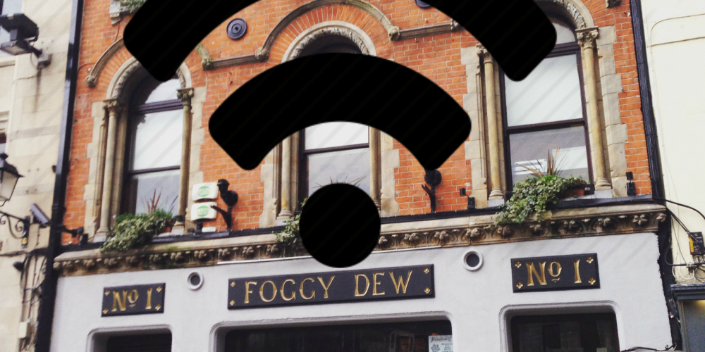 Which pubs have the best wifi speeds in Dublin?