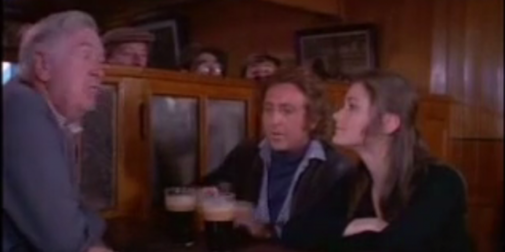 Gene Wilder filmed scenes in Kavanagh's 'The Gravediggers'