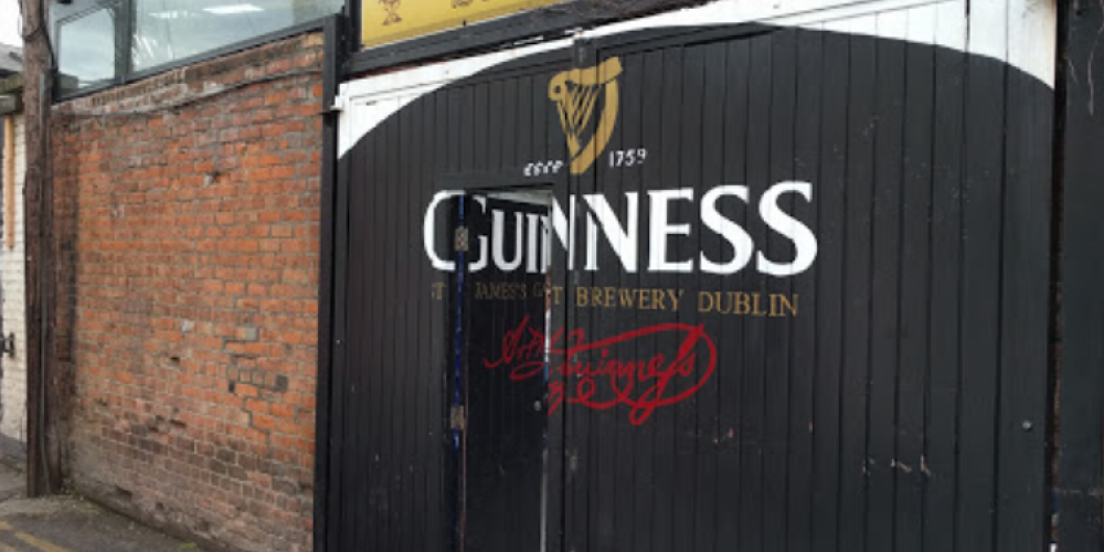 Pubs that mimic the iconic Guinness Gates.