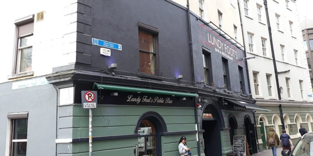 Say hello to 'Lundy Foot's', the new bar in Temple Bar.