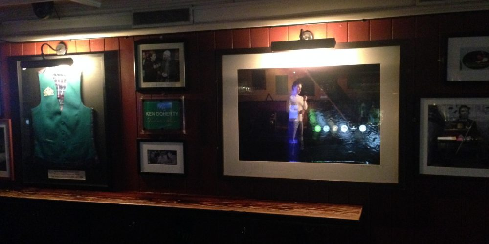 Ken Doherty has a room named after him in a Dublin pub.