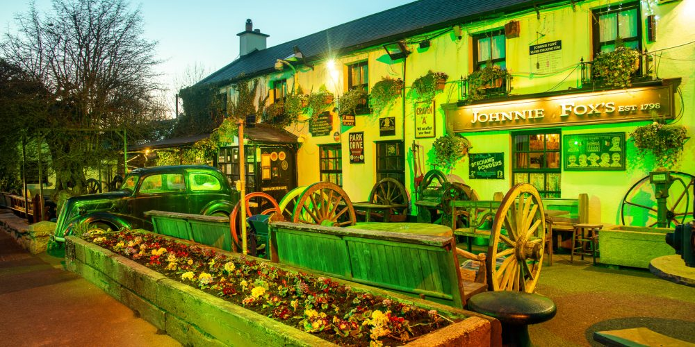 Escape the city on Paddy's Day, but still to the pub.
