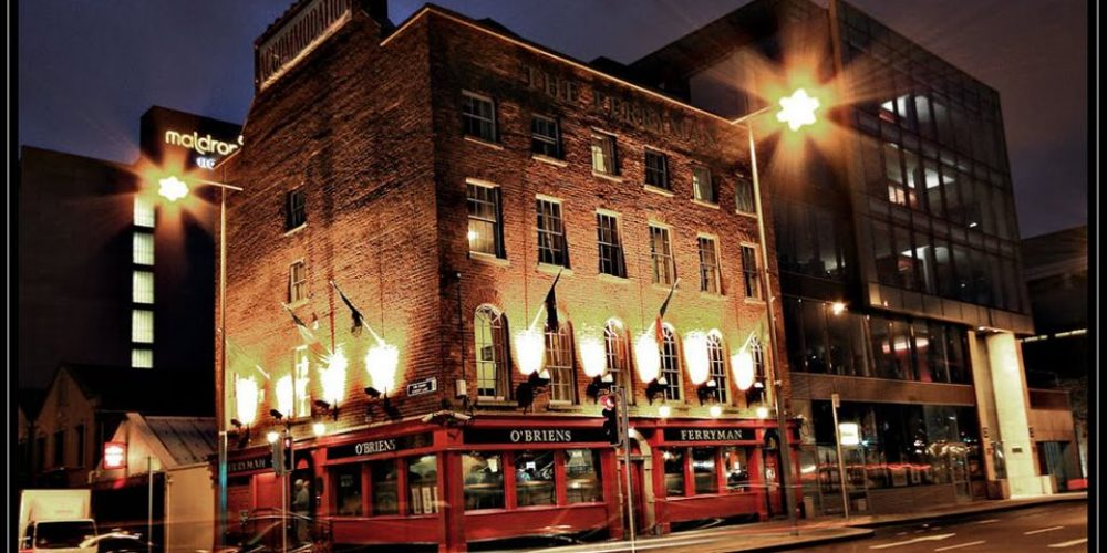 There's a 3 part radio series on the Dublin pub beginning tomorrow