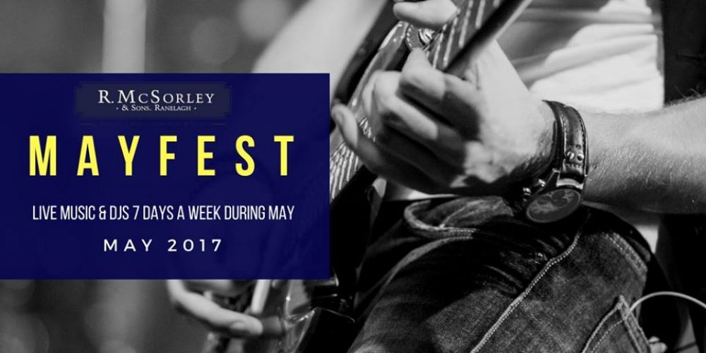 Mayfest in Ranelagh. Music, craft beer, food, and late nights.