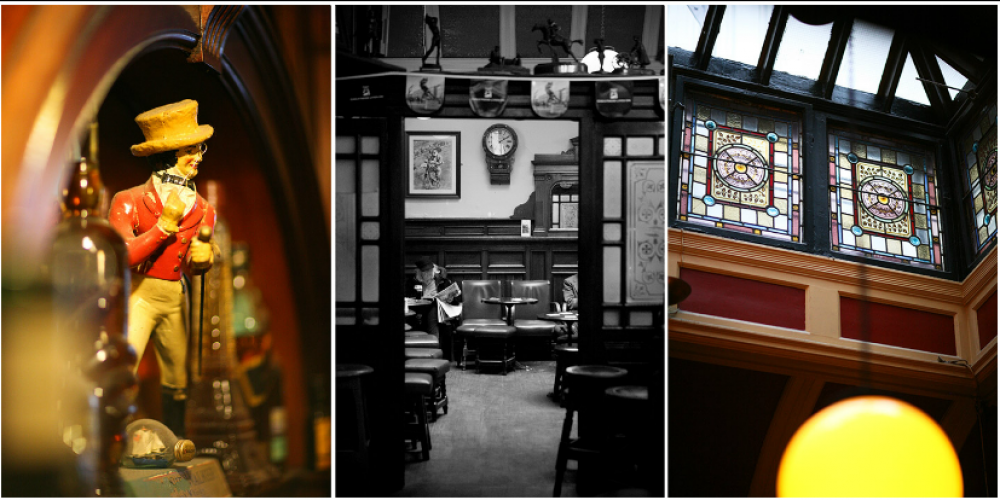 Celebrate 'Myles Day' in The Palace Bar.
