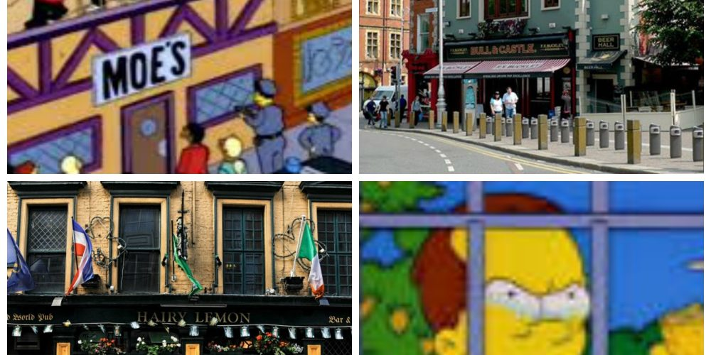 The Simpsons pubs of Dublin