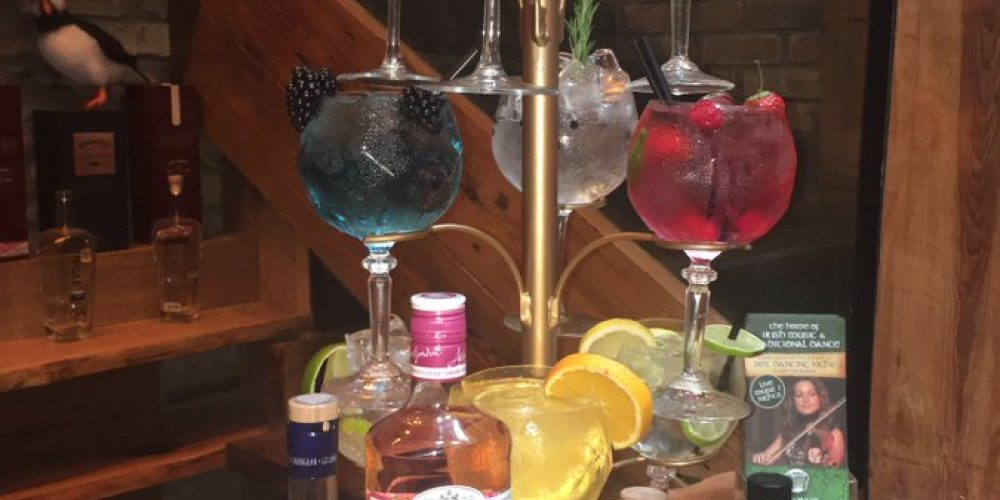 Behold the gin tree, your new favourite way to drink gin with pals.