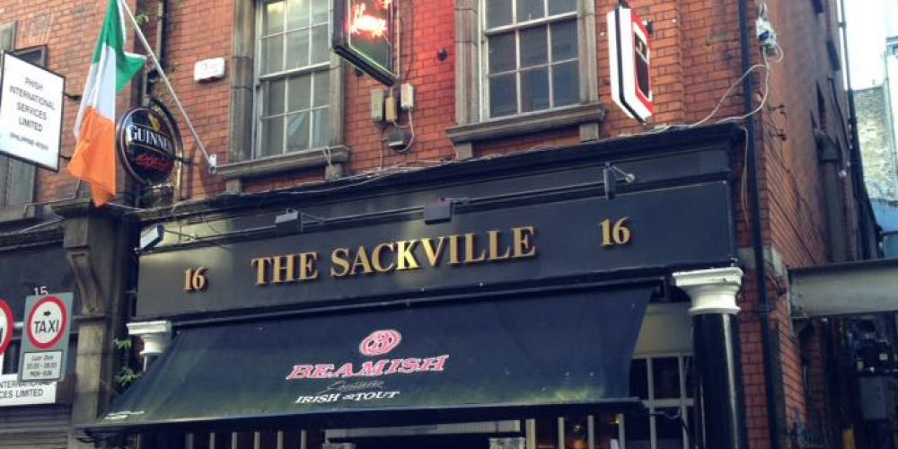 The Sackville Lounge has reopened.