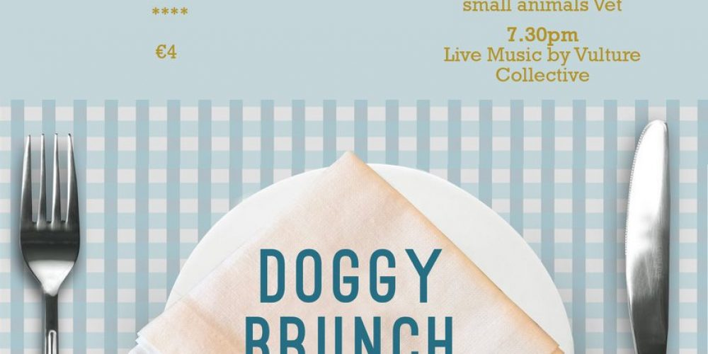 There's a 'Doggy Brunch' in a pub in October