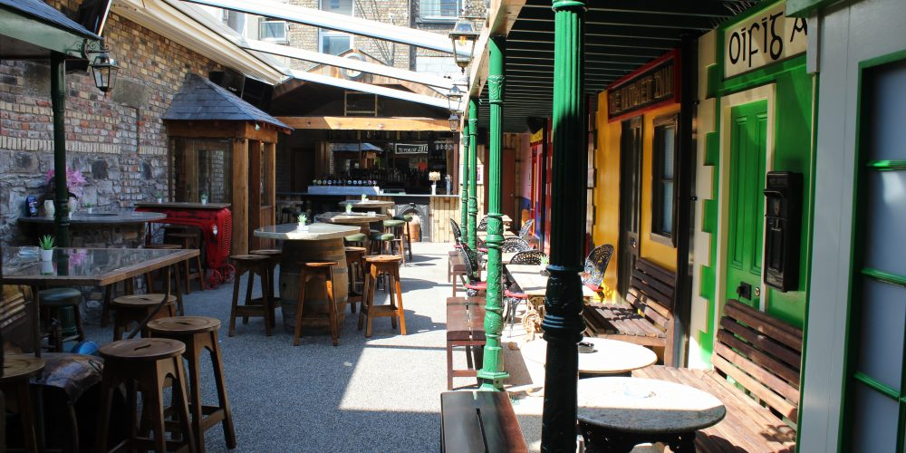 Take a look at this superb new Beer Garden in O'Shea's Pub.