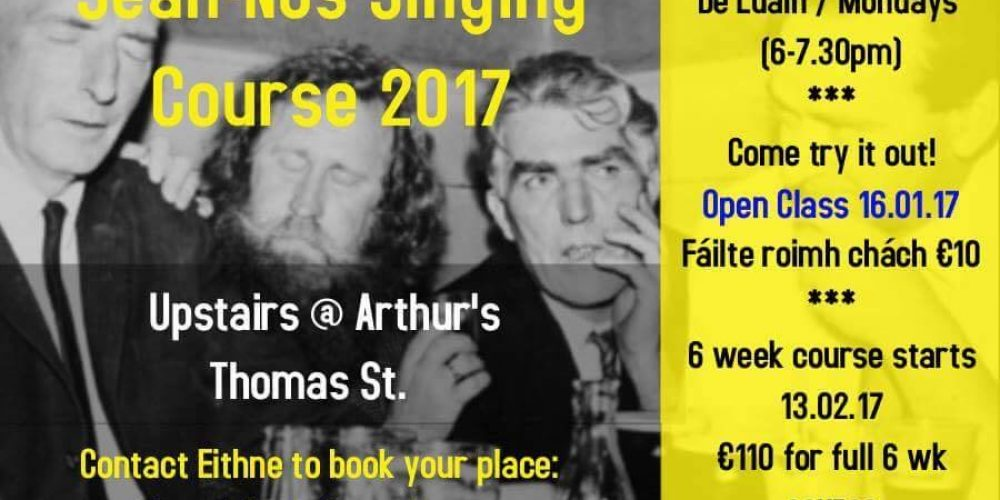 Earn your oul lad/wan credentials by learning Sean Nós singing in the pub.