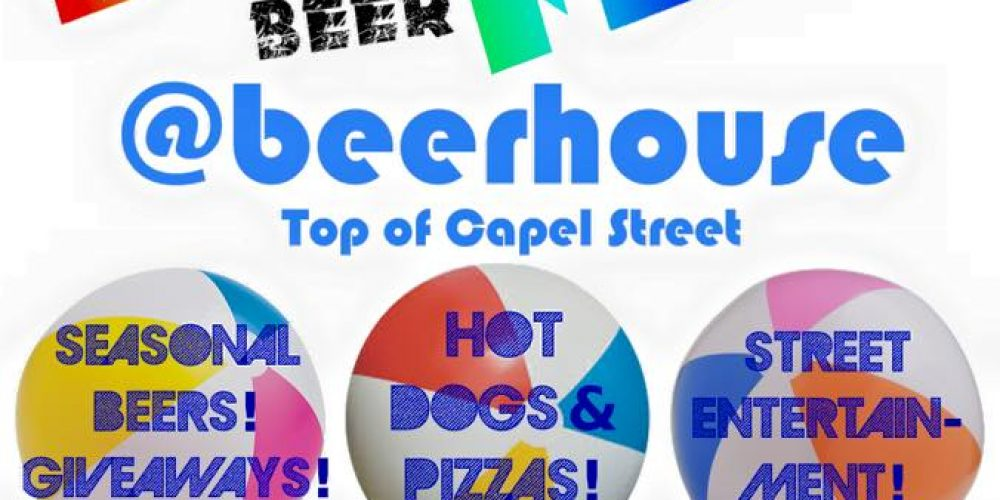 There's a mini craft beer festival in a pub this week.