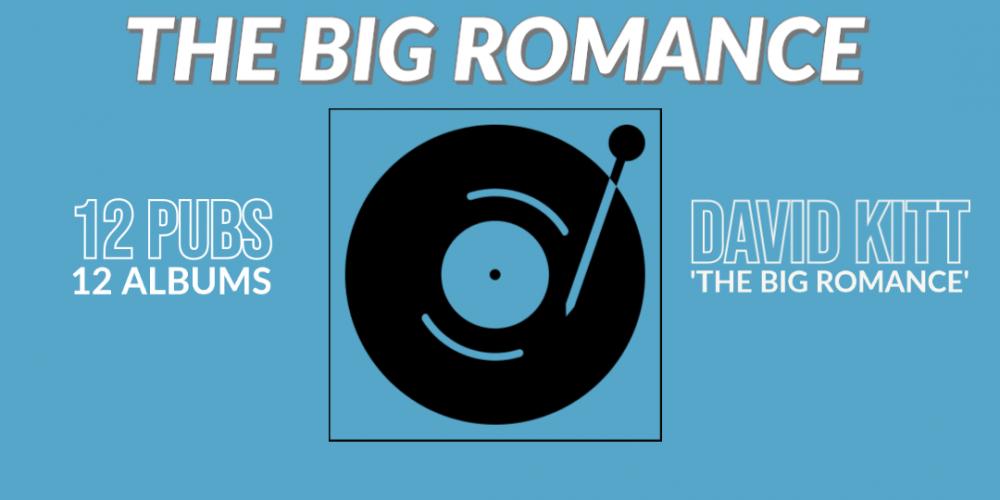 David Kitt and The Big Romance. 12 Pubs 12 Albums.