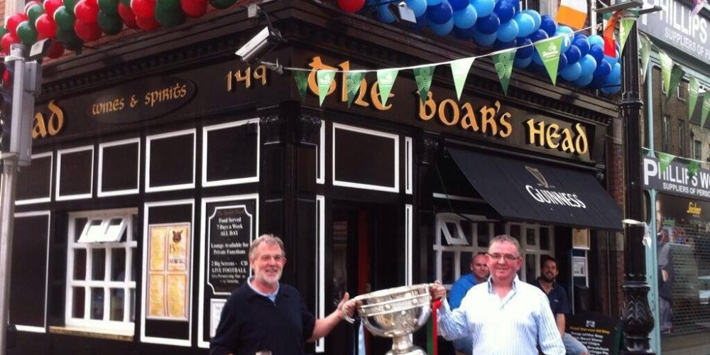 The Boars Head are gearing up for All Ireland Final weekend and….the return of Sam?