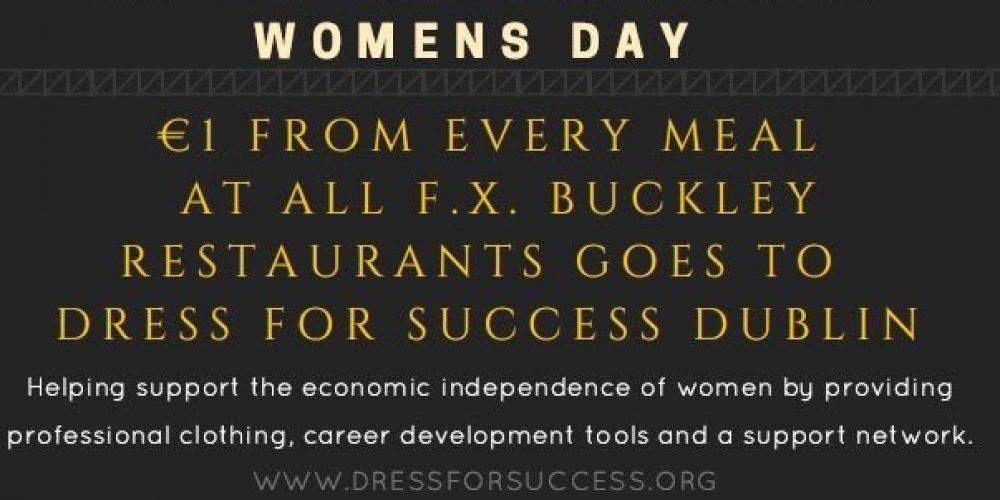Dublin pubs celebrating international women's day.