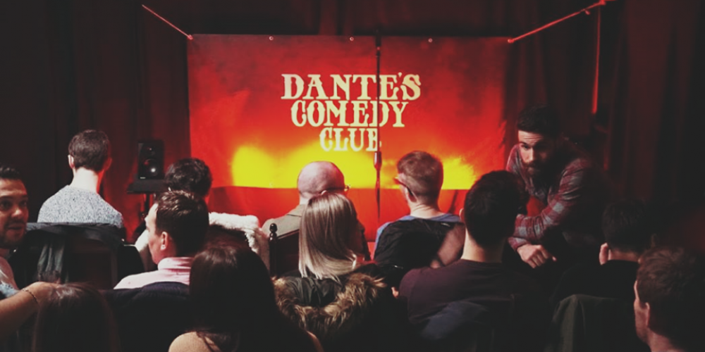 Live Comedy in The Lord Edward. Say hello to Dante's Comedy Club.
