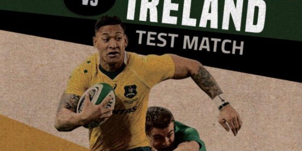 Pubs Showing the final Ireland v Australia test match.
