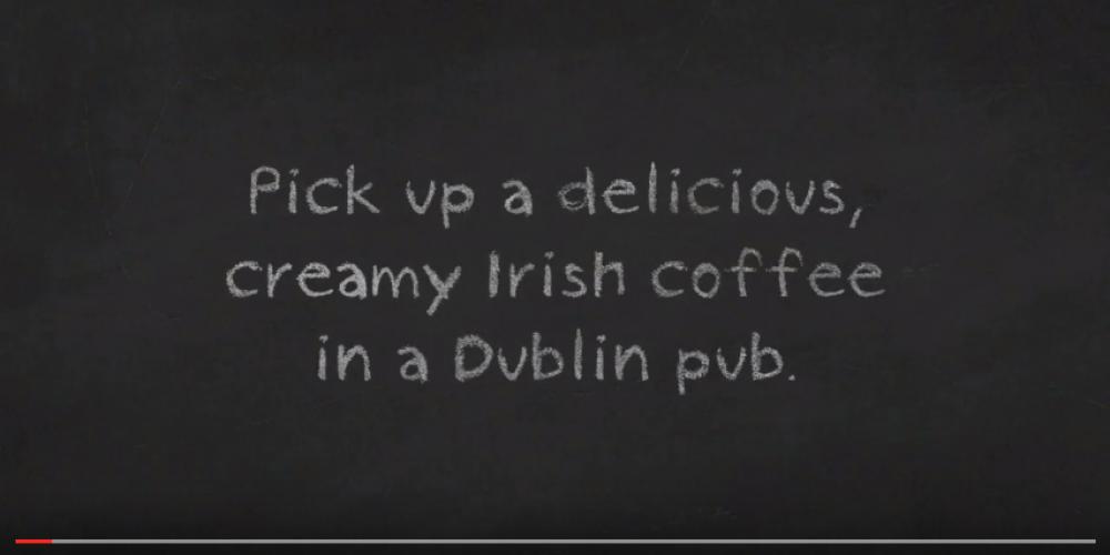 Video: Where to get a good Irish coffee in Dublin