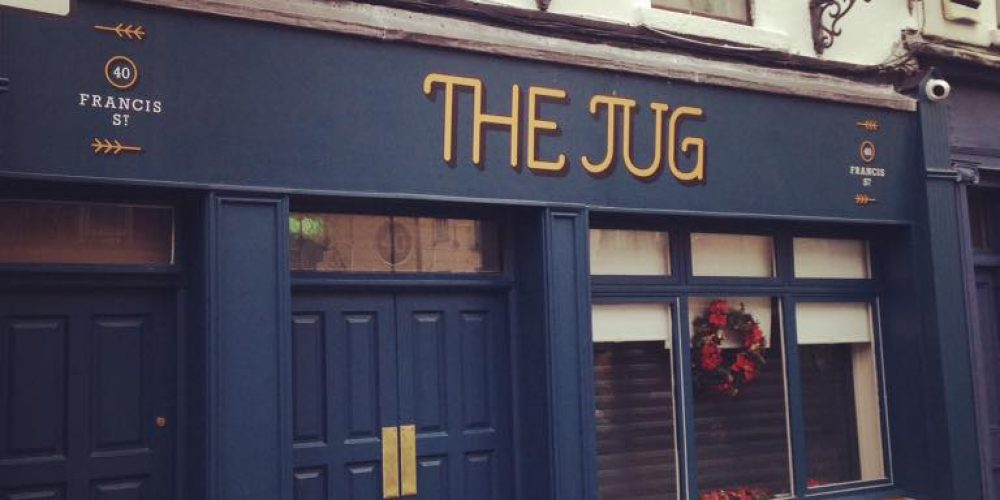 A quick look at the new pub on Francis Street, 'The Jug'