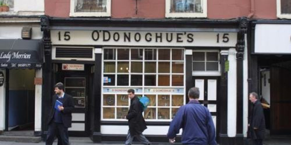 A song about O'Donoghue's. A beautiful tune about a beautiful pub.
