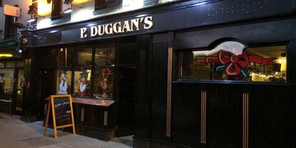 Eamonn Rea's bar in now 'P. Duggan's.