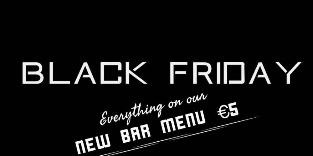 Black Friday deals in Dublin pubs.