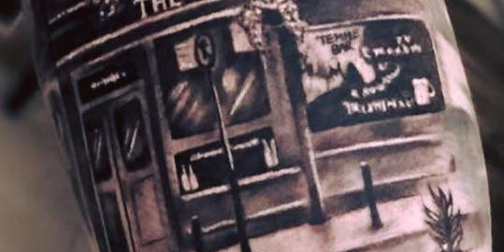 5 people who have tattoos of their favourite Dublin pubs.