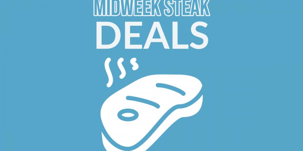 Beef up your midweek. Steak meal deals in Dublin pubs
