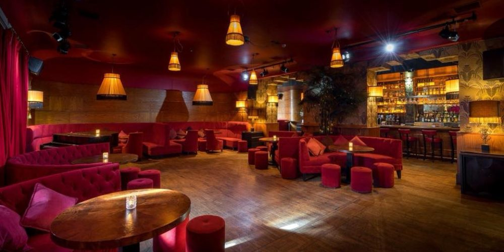 An elegant Christmas Party venue on Harcourt Street- The Bourbon Bar in The Odeon