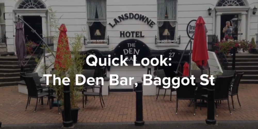 VIDEO: Quick Look: The Den Bar