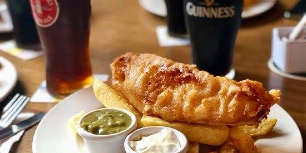 9 pubs for a beautiful fish and chips in Dublin