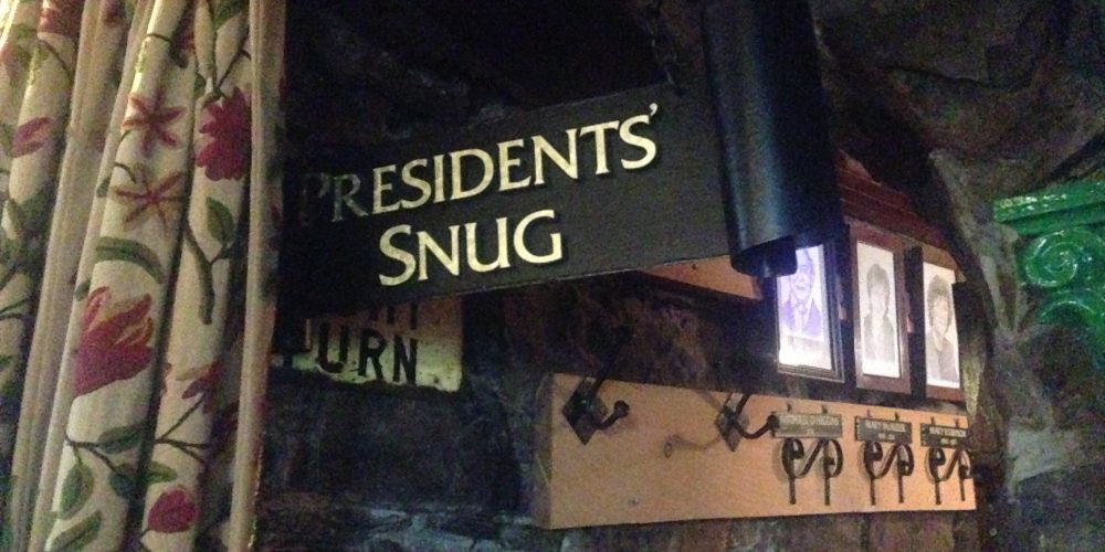 'The President's Snug' in The Hole in The Wall