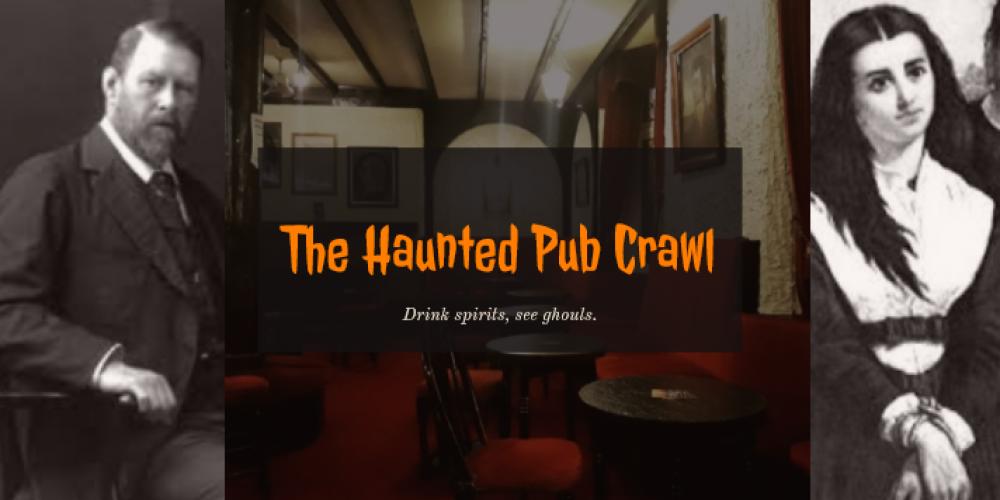 The Haunted Pub Crawl! Friday 25th October.