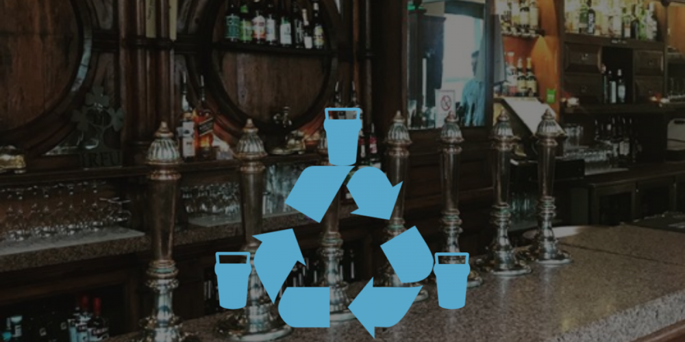 Reduce, Rebooze, Recycle. Why the pub is your local low waste centre.