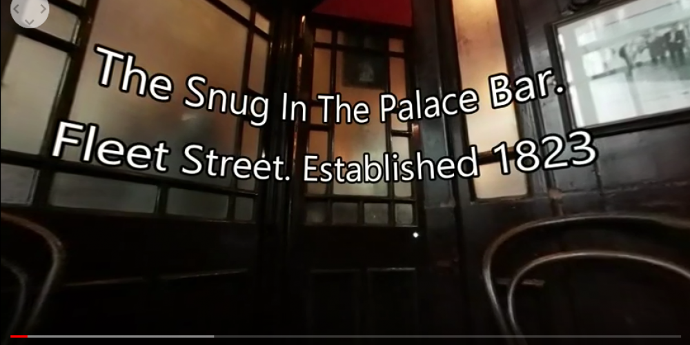 VIDEO: The Palace Bar snug in 360