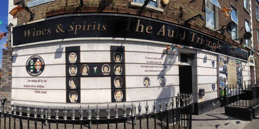 Pic: A pub that makes no secret of its politics.