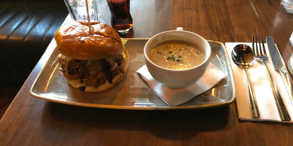Work in Ballsbridge? Here's a lunch special for you to try.