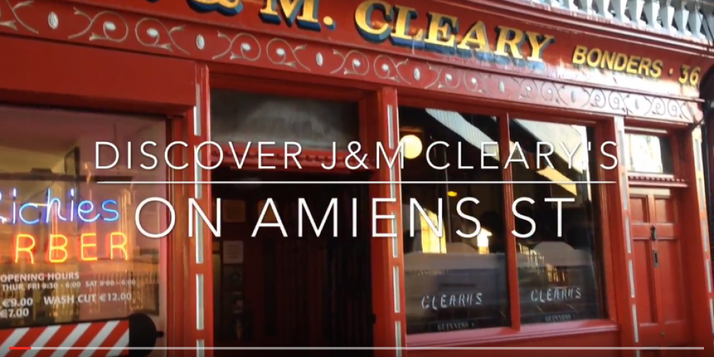 Video: A real hidden gem, Cleary's on Amien's Street