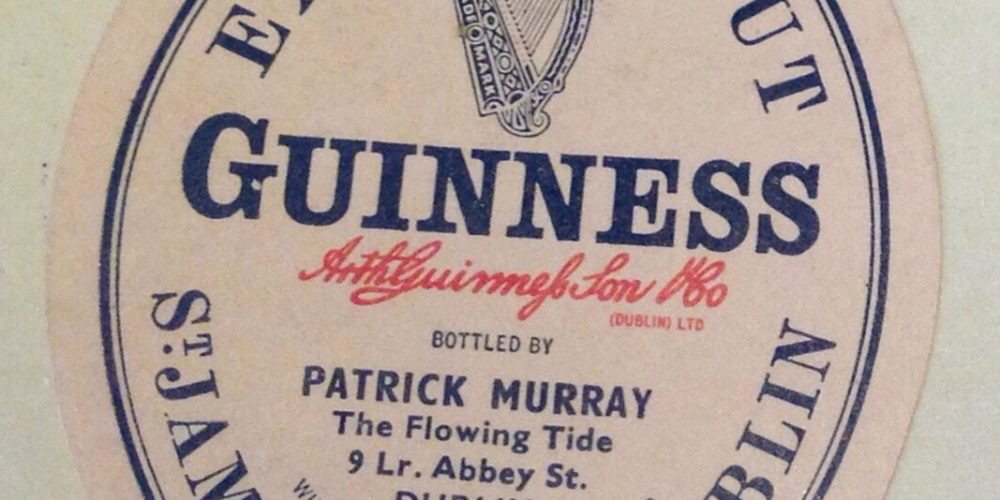 Pubs and Porter #2: 60 year old documents from the Guinness archive.