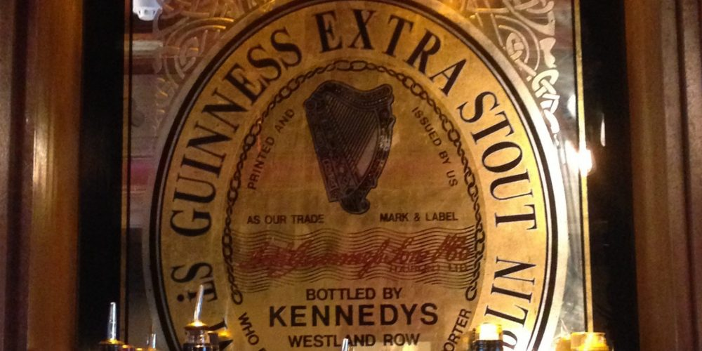 Mirror Mirror on the wall. Who's the fairest pub of all? Reflecting on antique and decorative mirrors in Dublin pubs.